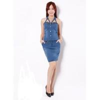Áo Jeans cúp ngực Mốt Việt JM14087