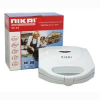 Máy Nướng Bánh Mini Nikai FS-03 - Trắng