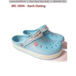 Giày nhựa nữ SK94 - Màu Xanh Dương