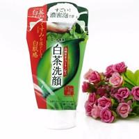 Sữa rửa mặt trà xanh ROHTO SHIROCHASOU GREEN TEA FOAM - hàng nhập Nhật