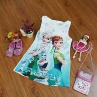 Đầm công chúa Elsa đáng yêu CX009