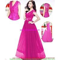 Đầm cưới đẹp : Đầm cô dâu ren hoa sắc tím quyến rũ kiêu sa DCE2