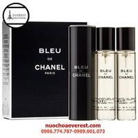 Bộ Nước Hoa Nam Bleu de Chanel 3 Chai
