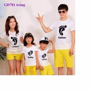 Combo 4 áo thun gia đình cao cấp - AGD517 1
