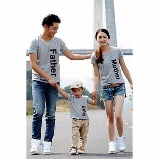 Combo 3 áo thun gia đình cao cấp - AGD0323 1