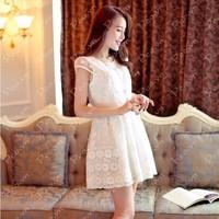 Mã số 580143 - Váy xòe ren cao cấp