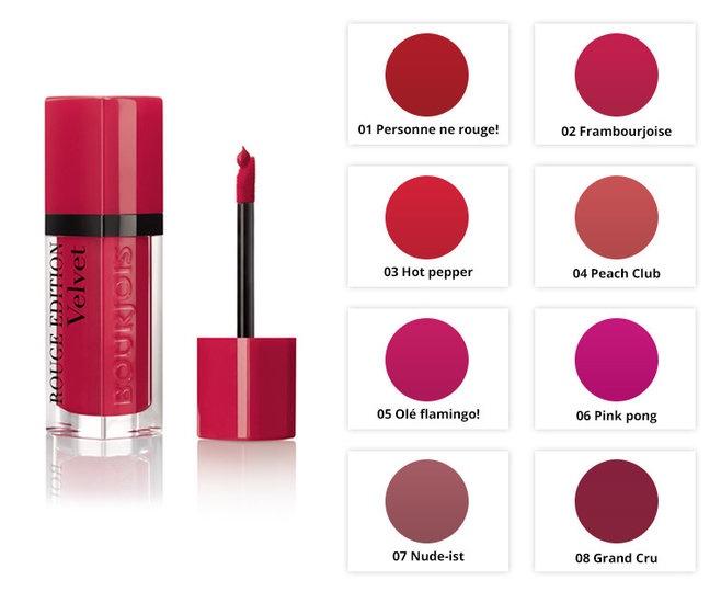Son Bourjois Rouge Edition Velvet