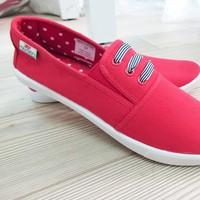 Giày vải nữ xuất khẩu gồm 4 màu