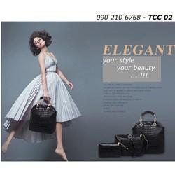 Bộ 3 túi xách cao cấp dành cho phái đẹp TCC 02