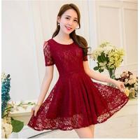 Đầm Ren Cao Cấp Có Size: Mira Xòe Thời Trang
