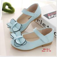 Giày HM kiểu dáng đính nơ cho bé gái 1-6 tuổi