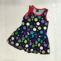 Đầm cho bé hoạ tiết chấm bi