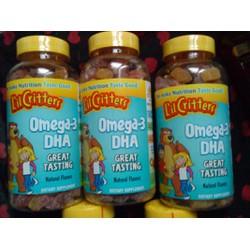Kẹo dẽo Gummy DHA Omega 3 - 200v