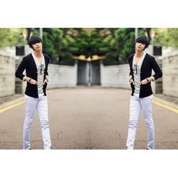 Quần kaki nam ống côn màu trắng xám form đẹp dành cho nam trẻ trung