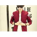 Aó khoác dù màu đỏ form body kiểu dáng Hàn Quốc trẻ trung