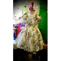 Đầm Vải Cao Cấp Cột Dây Cho Bé Gái Từ 1 đến 5 tuổi