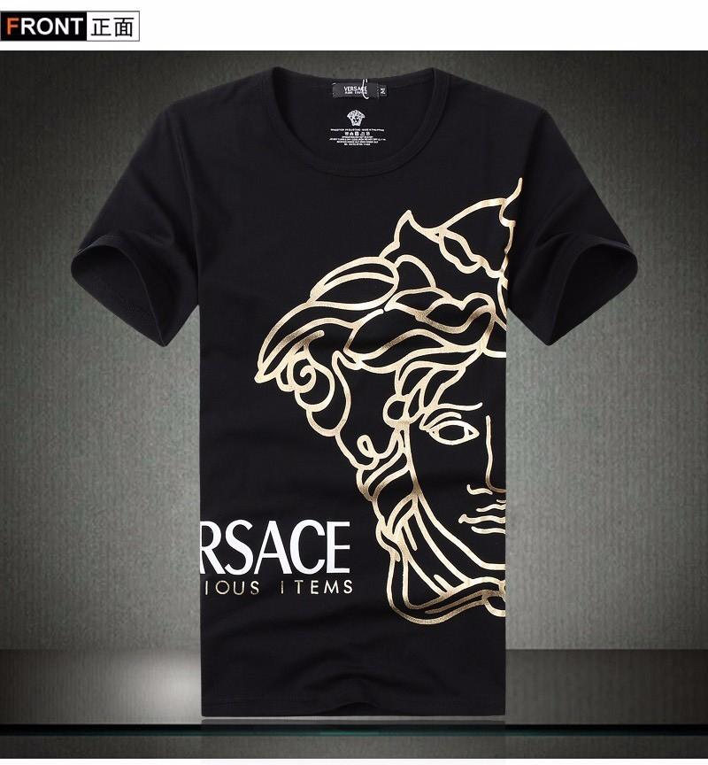 Áo thun in hình logo Versace cách điệu - BB1481 1