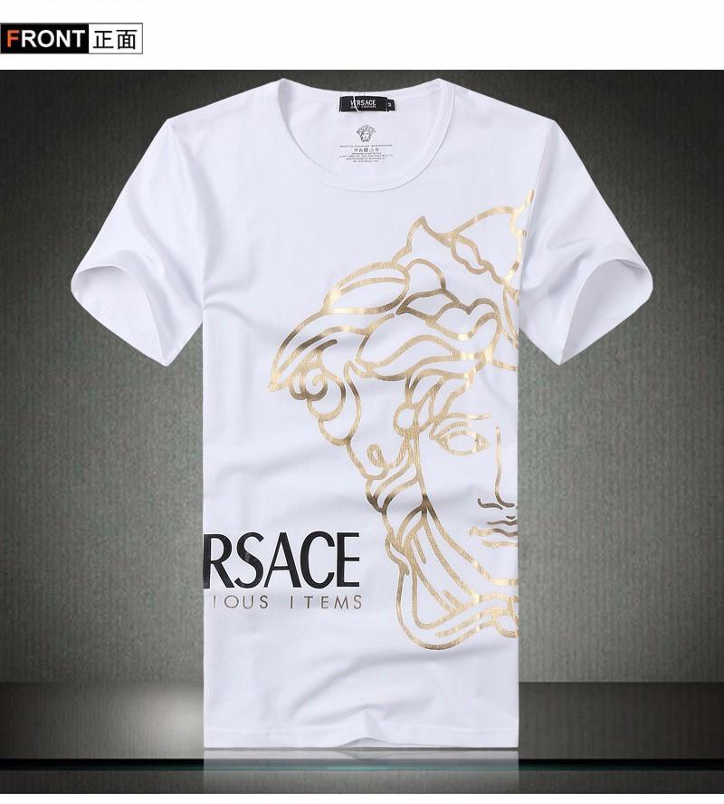 Áo thun in hình logo Versace cách điệu - BB1481 2