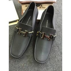 Giày đi mưa - Giày lười nhựa khóa H dành cho nam MN09
