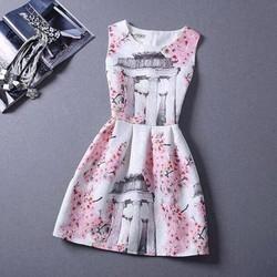 Đầm tùng xòe thiết kế