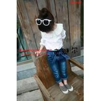 BG948 - Bộ áo sơ mi và quần jean thun