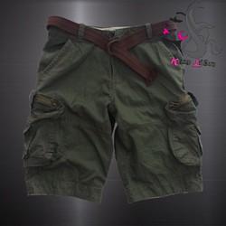 Quần Short Kaki Nam Túi Hộp MSP22 - Kim Liên 135