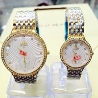 đồng hồ Omega đôi nam nữ sành điệu,hàng mới về rất nhiều