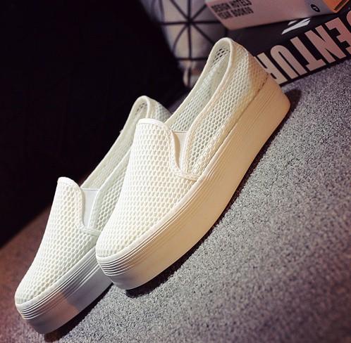 Giày slip on lưới màu trắng – MS: G810-T 6