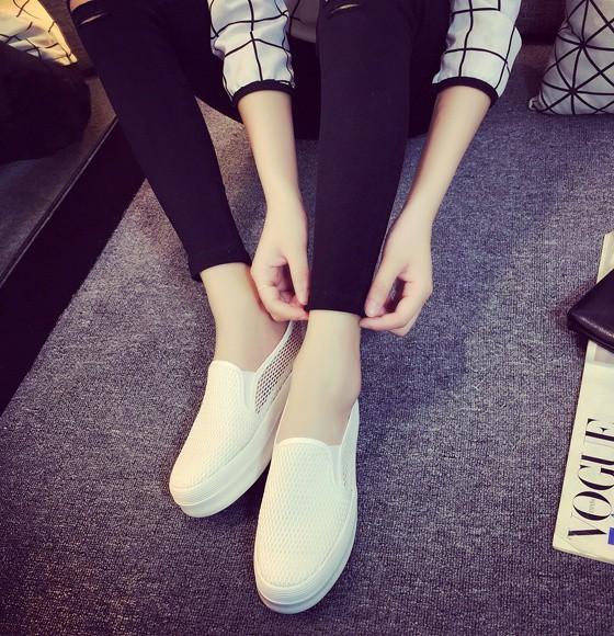 Giày slip on lưới màu trắng – MS: G810-T 7