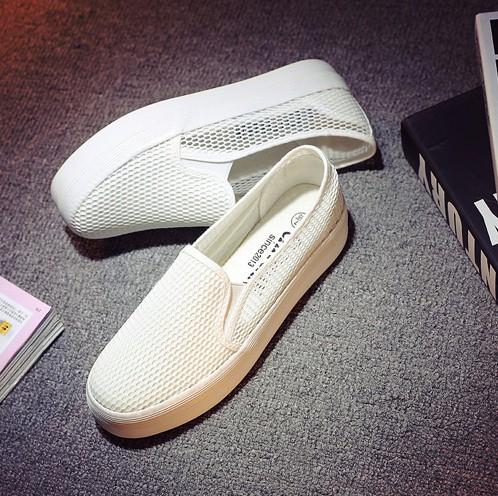 Giày slip on lưới màu trắng – MS: G810-T 5