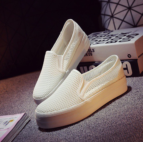 Giày slip on lưới màu trắng – MS: G810-T 3
