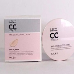 CC Cream Face It Aura Color Control Cream The Faceshop