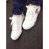 Giày bata trắng học sinh hình khỉ N18