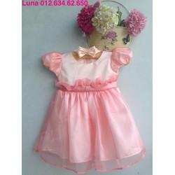 Đầm công chúa mùa thu TẶNG KÈM BĂNG ĐÔ