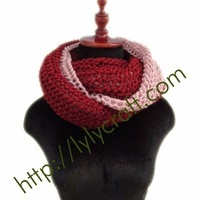Khăn len ống dành cho nữ - Đan thũ công