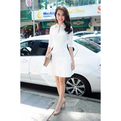 Đầm Cổ Sơ Mi Phong Cách Tiểu Thư - D2131-2280