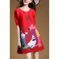 Đầm Nhập Cao Cấp - Đầm Suông Over Size - HR400