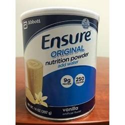 Hàng xách tay Sữa bột Ensure Mỹ 397gr