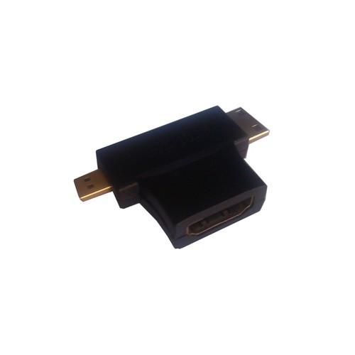 Đầu chuyển HDMI sang micro HDMI và mini HDMI - 3847638 , 2060601 , 15_2060601 , 75000 , Dau-chuyen-HDMI-sang-micro-HDMI-va-mini-HDMI-15_2060601 , sendo.vn , Đầu chuyển HDMI sang micro HDMI và mini HDMI