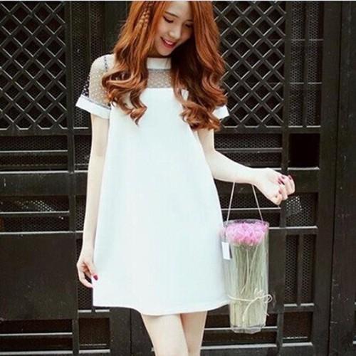 Đầm suông rộng thiết kế