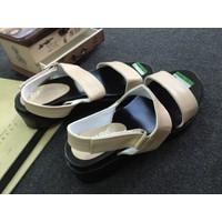 Giày sandals quai ngang đế bánh mì SDQN39