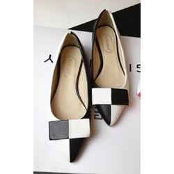 Giày búp bê nữ thời trang, màu sắc trẻ trung