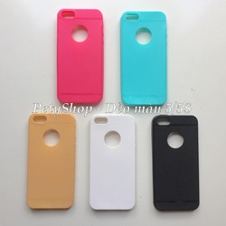 Ốp lưng dẻo màu iPhone 5 5S