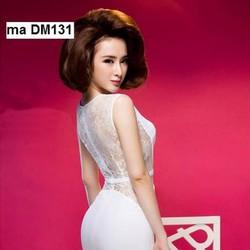 Đầm body phối ren như Phương Trinh DM131