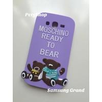 Ốp lưng hình gấu Moschino Samsung Grand Grand Dous