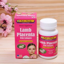 Viên uống Nhau Thai Cừu - Extra Collagen