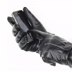 Sỉ lẻ Găng tay cảm ứng  màn hình,lái xe, da lót lông  chống nước nhẹ