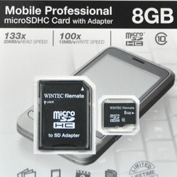 Thẻ nhớ Wintec Micro SDHC 8GB Class 10
