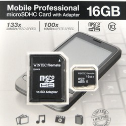 Thẻ nhớ Wintec Micro SDHC 16GB Class 10