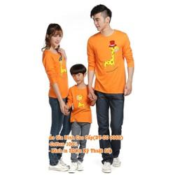 Áo Gia Đình Dài Tay Cao Cấp DT-CC0065 set 3 áo